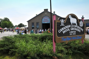 Canadian Co-Operative Wool Growers (Old CPR Roundhouse and Shop)